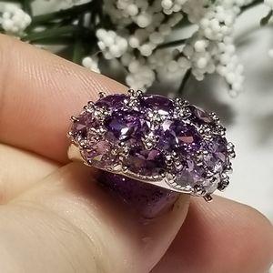 Stunning❤ 925S Amethyst Ring
